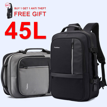 Anti Theft 17 Inch Laptop Backpack Male Women Men 15.6'' Notebook Travel Backpack Large Bag Waterproof With USB Business Bagpack