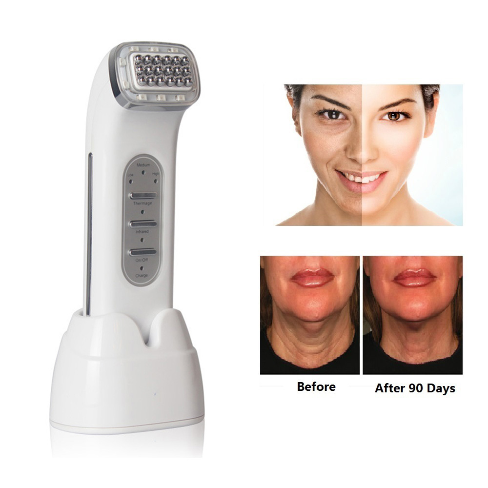 Facial Thermage RF Radio Frequency For Lifting Face, Lift Body SKin, Anti Wrinkle Removal, Skin Tightening Beauty Care Fitness