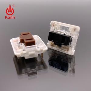 Image 2 - Kailh 로우 프로파일 기계식 키보드 스위치, 노트북 용 초박형 키보드 스위치 선형 촉각 핸드 필링 도매 cpg1232