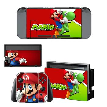 Super Mario Nintendoswitch Skin Nintend Switch Stickers Decal for Nintendo Switch Console Joy-con Controller Dock Skins Vinyl 2