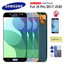 LCD do Samsung Galaxy J5 2017 J530 J5 Pro SM-J530F J530M wyświetlacz LCD ekran dotykowy Digitizer zgromadzenie dla J5 J530 ekran LCD tanie tanio CN (pochodzenie) Pojemnościowy ekran 1280x720 3 For Samsung Galaxy J5 2017 J530 LCD LCD i ekran dotykowy Digitizer 5 2