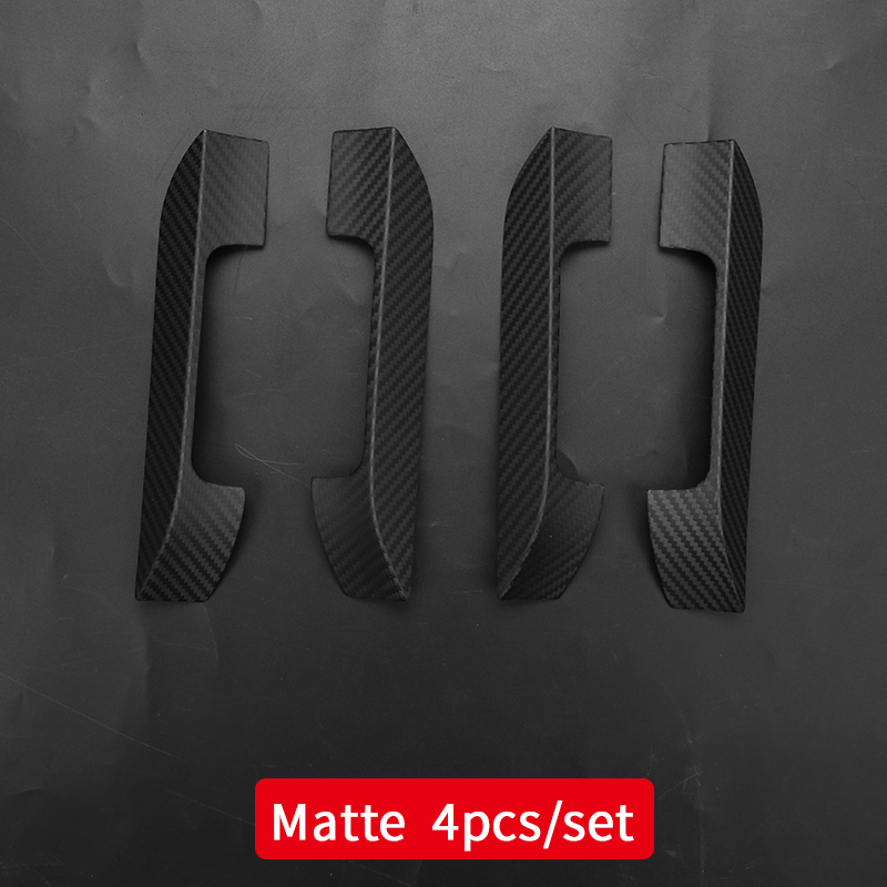 Cubierta de la manija para el coche tesla modelo s tesla 2018 Modelo s tesla accesorios para el coche tesla modelo s fibra de carbono exterior - 5