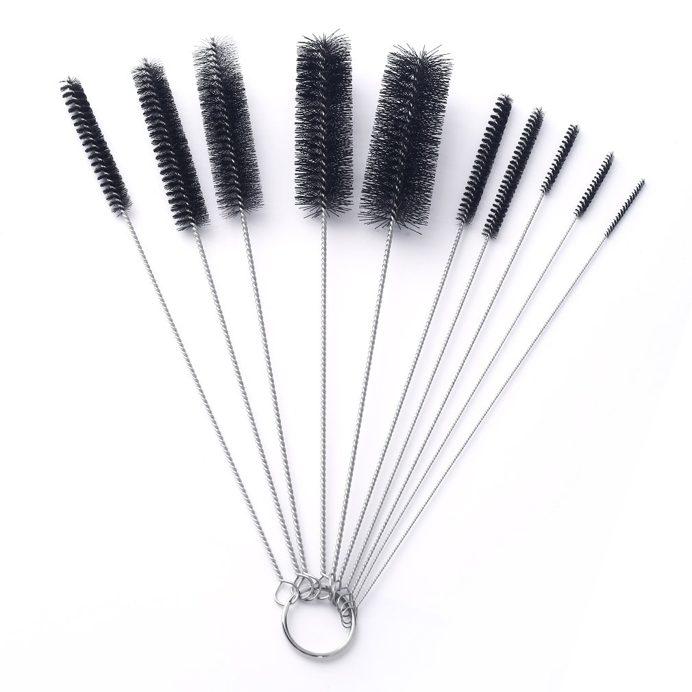 New Professional Car And Motorcycle Carburetor Needle Cleaning Brush & Cleaning Kit Nylon Metal Cleaning Brush Tool