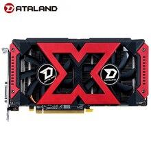 Dataland X seri grafik kartı RX580 4G AMD GDDR5 256bit PCI masaüstü oyun RX580 için ekran kartı PC