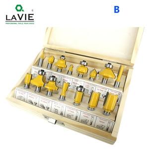 Image 4 - Lavie 15 8 Mm Router Bit Bộ Cắt Tỉa Thẳng Dao Phay Gỗ Bit Lưỡi Cắt Hợp Kim Vonfram Gỗ MC02006