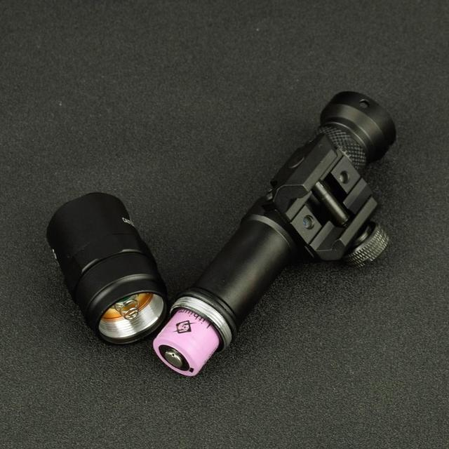 Tactical SF M600 M600B Weapon Gun light Lanterna Airsoft Rifle arma Flashlight Pistol Scout Light Torch  Hunting Pictinny Rail 4