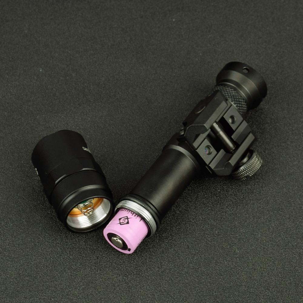 Lampu suluh taktikal SF M600 M600B untuk senjata pemburu obor senjata - Memburu - Foto 4