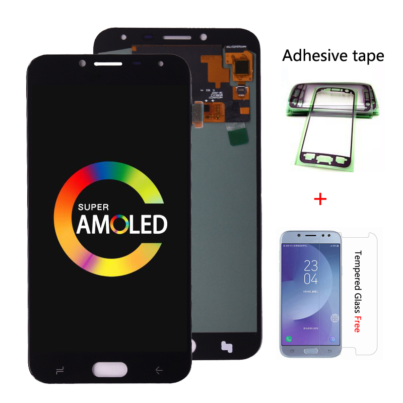 Original Super AMOLED For Samsung <font><b>Galaxy</b></font> <font><b>J4</b></font> J400 J400F J400G/DS SM-J400F LCD <font><b>Display</b></font> with Touch Screen Digitizer Assembly image