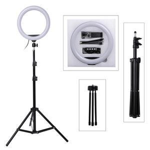 10inch Photography LED Selfie Ring Light 26cm Dimmable Camera Phone Ring Lamp With Stand Tripods For Makeup Video Live Studio