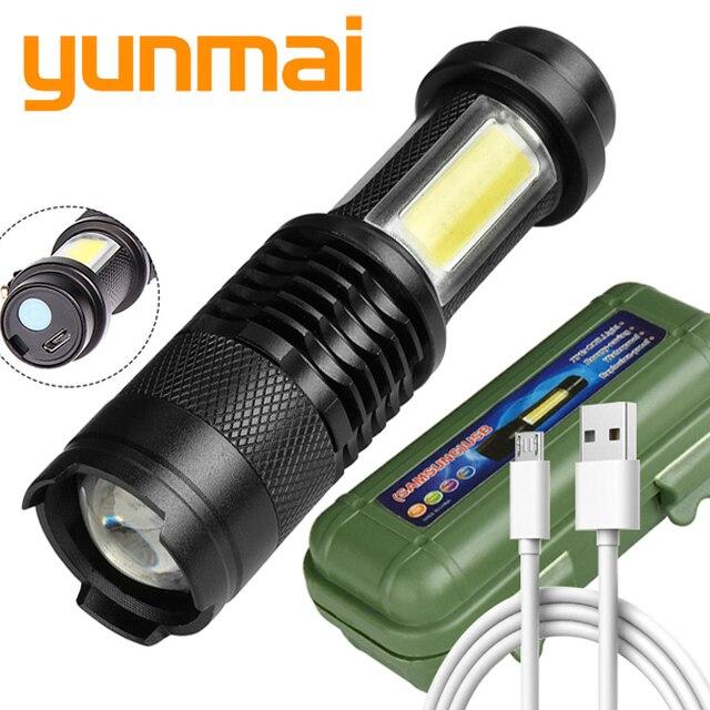 5x 20000LM XPE+COB LED Arbeits Taschenlampe Zoom Fokus Mini Flashlight Neu XS