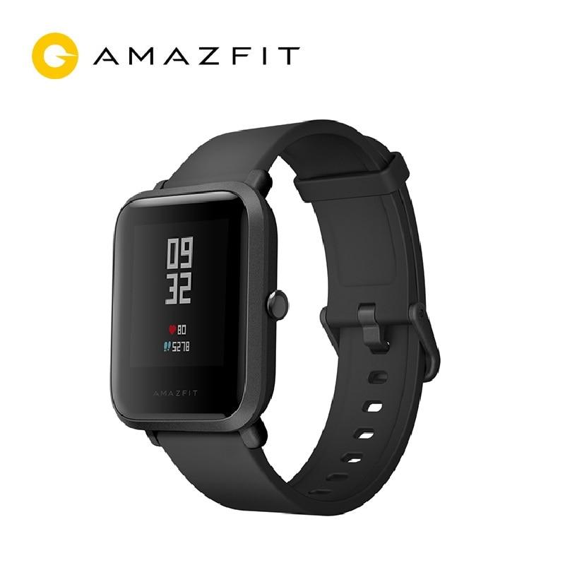 Amazfit Bip Lite montre intelligente durée de vie de la batterie de 45 jours activité de résistance à l'eau 3ATM suivi sain applications pour Smartphone Notifications