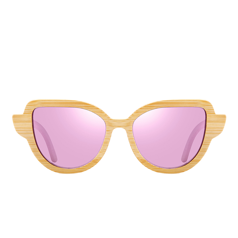 Natural Bamboo sunglasses bc8104 pink