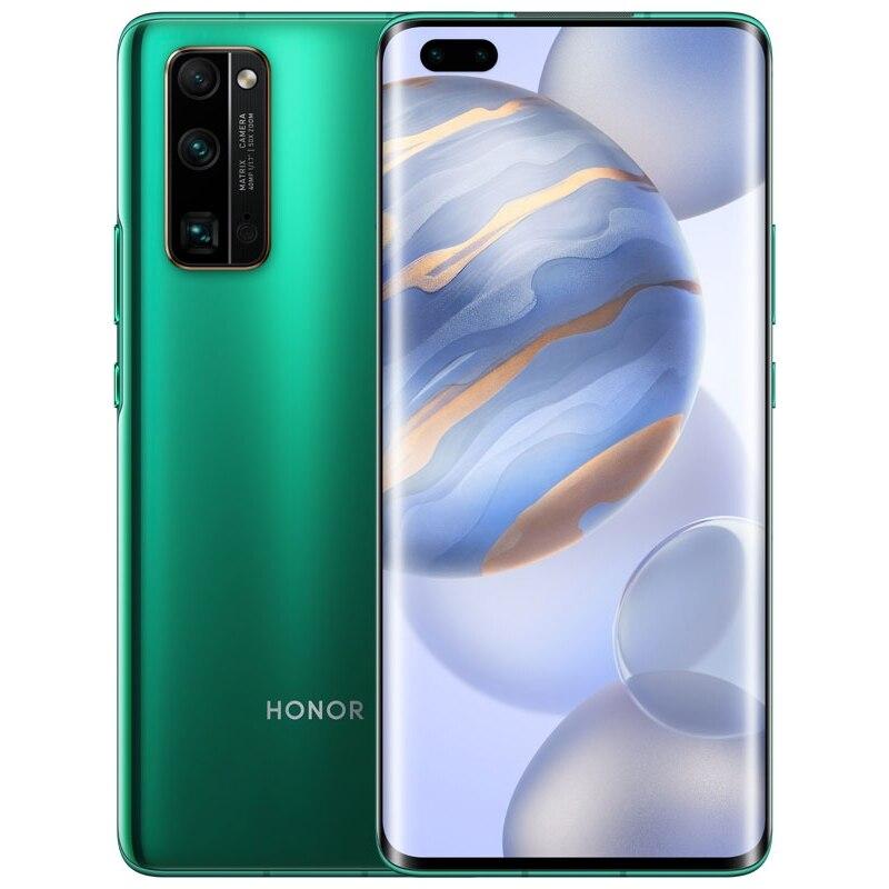 "Смартфон Honor 30 Green 6.53"" OLED Hisilicon Kirin 985 5G 8Гб 128Гб 40Mп Android 10 4000mAh Смартфоны    АлиЭкспресс"