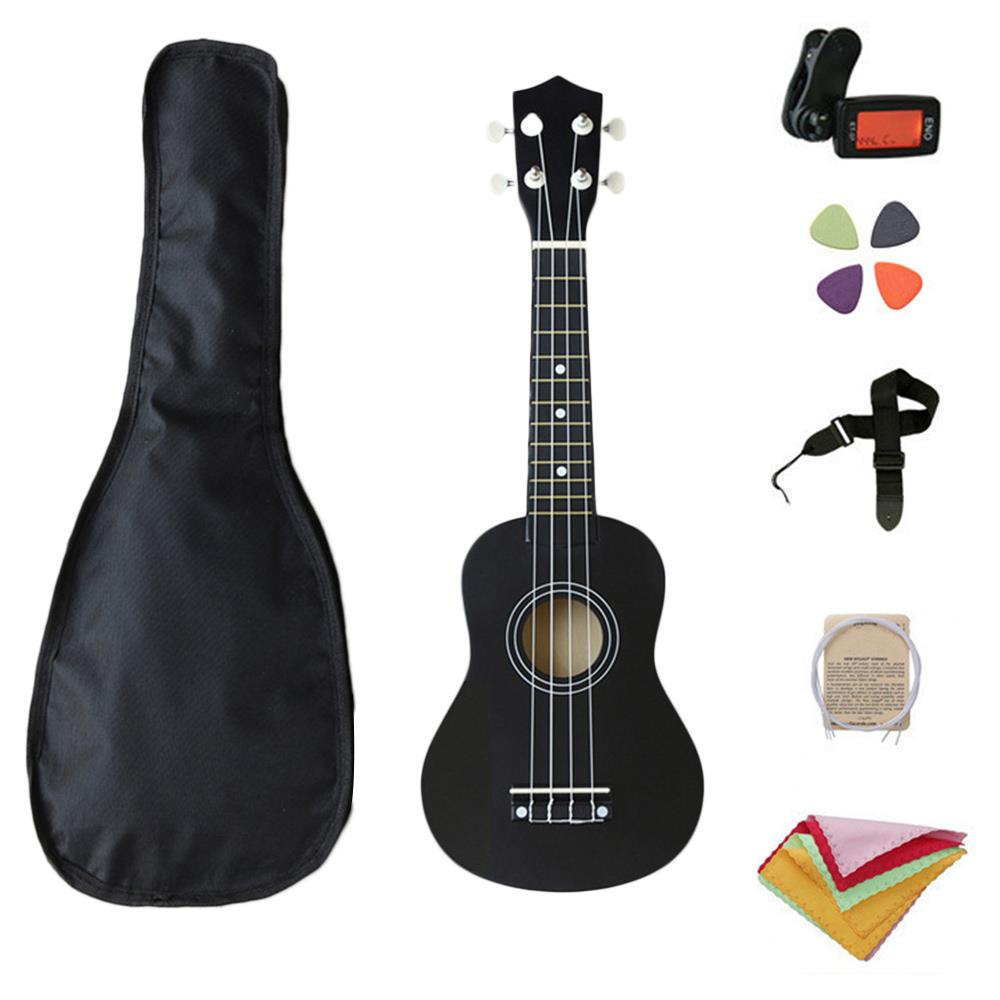 Portable All in One 1 Set School Starter Guitar Musical Instruments New Year Gift Learning Ukulele Beginner Practice Fashion image