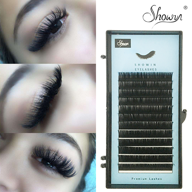Mink Eyelashes Extension individual False Eyelash Individual Natural