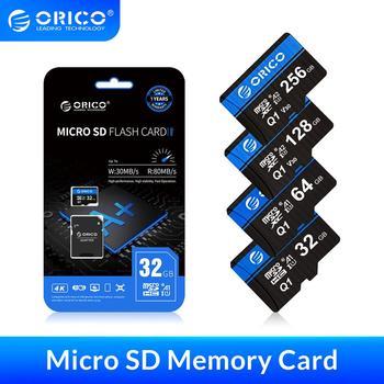 ORICO Micro SD Card Memory Card 256GB 128GB 64GB 32GB 80MB/S mini TF car Micro sd card Class10 flash card Memory 32GB TF Card micro sd card sdhc standard tf advanced flash memory 8 16 32gb for dvr surveillance camera