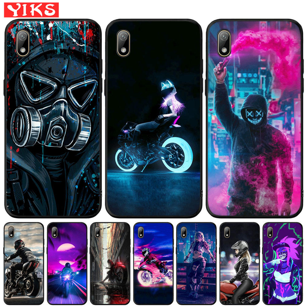 Street Sport Element Brand Phone Case For Honor 7A Pro 8S P Smart Z Cover For <font><b>Huawei</b></font> Y5 Lite Y6 Prime <font><b>2018</b></font> 2019 <font><b>Y7</b></font> Y9 Prime 2019 image