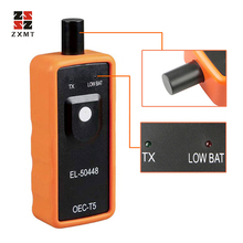 TPMS For G-M for Opel Ford EL-50448 50448 Auto Tire Pressure Monitor Sensor Reset Tool+12V Digital Battery Tester