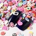 1000Pcs Obst Blume Scheiben Füllstoff Für Nail art Lollipop Obst Hinaus Für DIY Charme Schleim Zubehör Liefert Dekoration Spielzeug