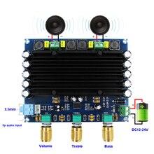 2*150 Вт 2,0 TPA3116D2 Плата усилителя мощности, цифровой аудио стерео Класс D TL0741 TPA3116 усилители с усилителем тона