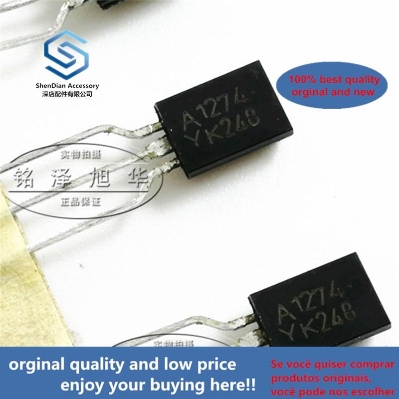 10pcs 100% Orginal New Best Qualtiy KTA1274-Y A1274-Y 2SA1274 PNP Transistor Transistor Real Photo