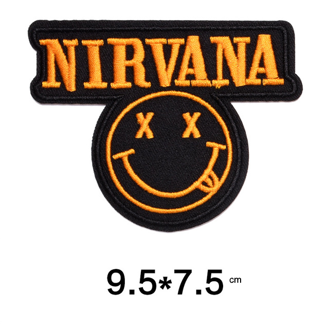 Embroidered Patches Letter Banner Clothes Badges