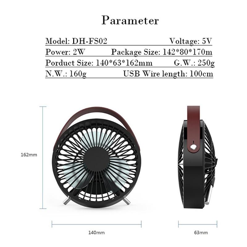 Летний охлаждающий вентилятор, Домашний Настольный кондиционер, вентилятор, вентилятор, 3 лопасти, Usb 140 мм, большой размер, черный
