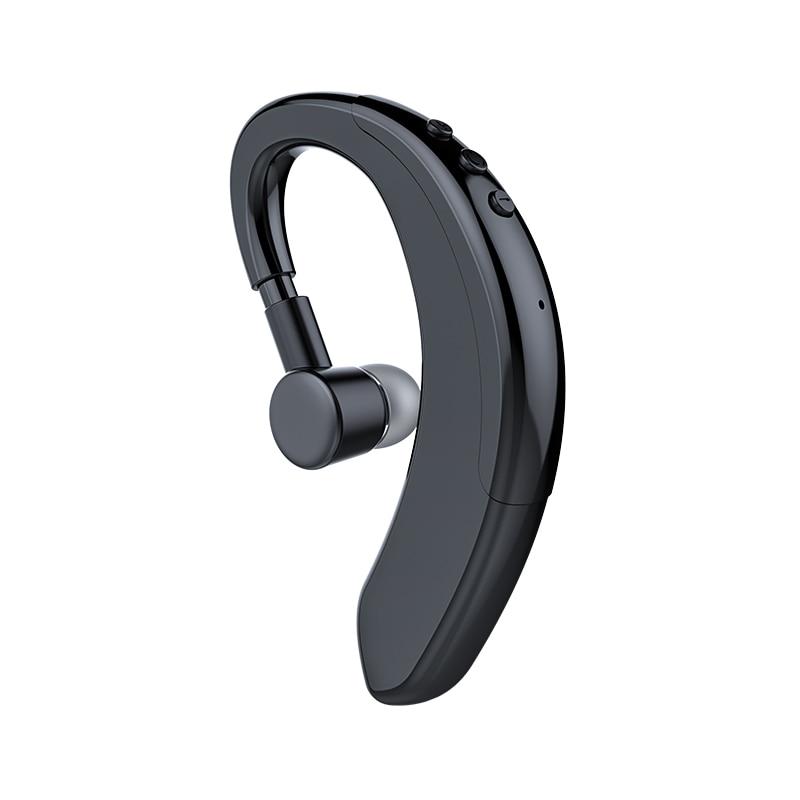 Wireless Sports Earbuds Single Ear Bluetooth Headset Mini Business Style Ear Hook Headphone Hanging Earpiece Stereo Earphone Bluetooth Earphones Headphones Aliexpress