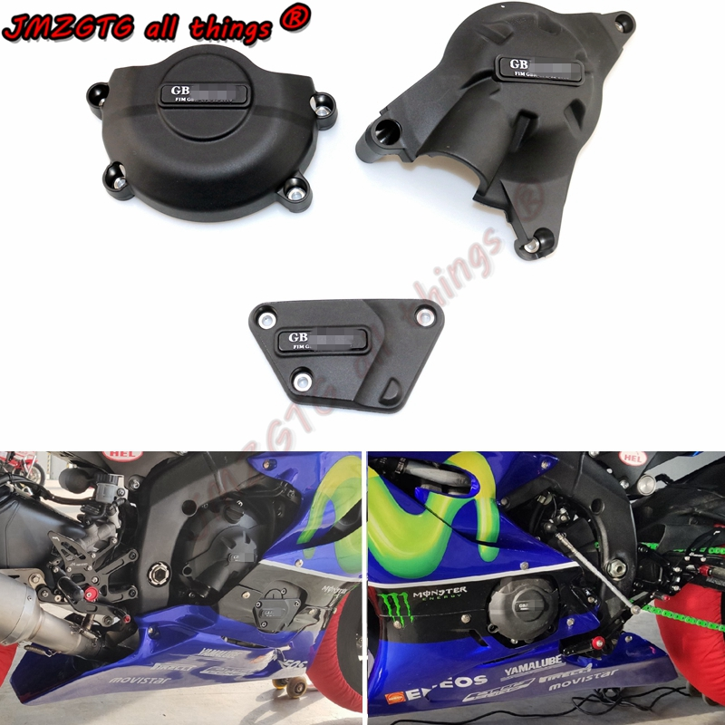 Motorcycles Engine Cover Protection Case For Case GB Racing For YAMAHA R6 2006-2019 Engine Covers Protectors