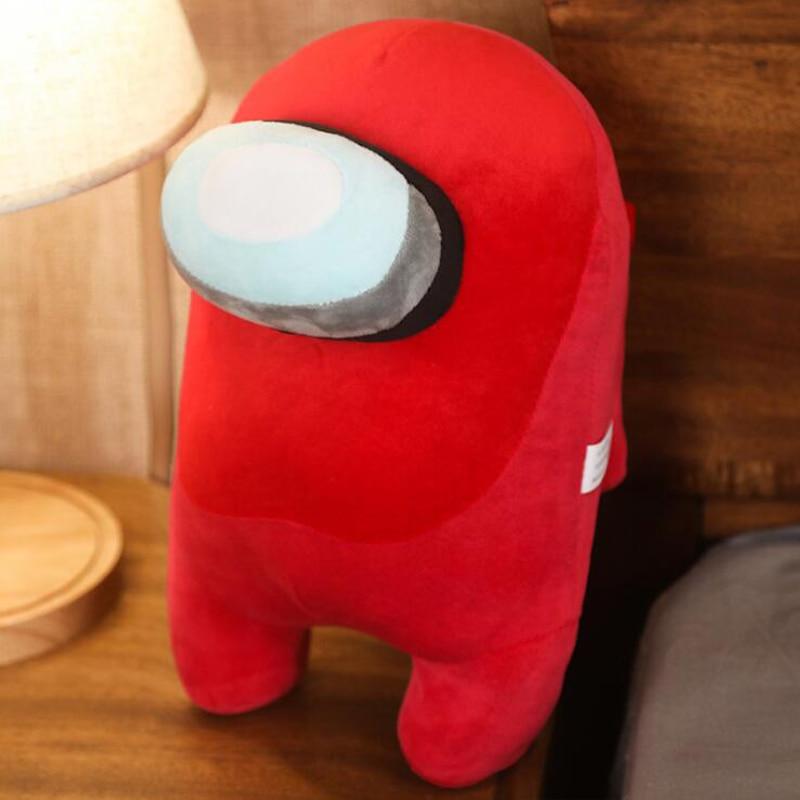 20cm Soft Plush Among Us Game Plush Toy Original Kawaii Animal Stuffed Doll Christmas Gift Cute Red Small Among Us Plushie