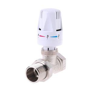 Image 4 - A tre vie Valvola Termostatica In Ottone Automatico di Controllo della Temperatura Rubinetto A5YD
