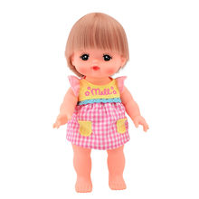 Mellchan Mi Lu Sister Pajamas Suit Doll GIRL'S Toy Children Princess Baby(China)