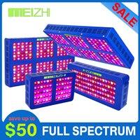 Reflector LED MEIZHI, luz de cultivo de espectro completo 300 W/450 W/600 W/900 W/1200 W, luz de cultivo de planta de sistema hidropónico para jardín interior