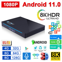 H96 Max TV Box RK3566 Android 11,0 Top Box 5G Dual Band WiFi 1080P 8K Smart TV media Player H.265 Video Decoder Netzwerk Player