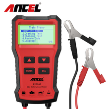 Test-Charger-Analyzer Battery Charging-Cricut Ancel Bst100 Load-Tools Voltage 12V 2000CCA