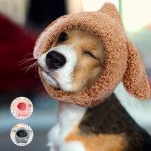 Зимняя одежда для собак бейсболка с кошкой милый костюм аксессуары для собак для маленьких собак розовые кошки вечерние рождественские кепки товары для домашних животных Чихуахуа Мопс