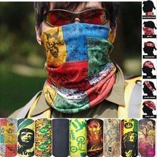 New Design Pattern Tube microfiber Bandana Sports Headwear Cycling hair Mens Scarf Dustproof UV ProtectionHeadband Muslim Hijab