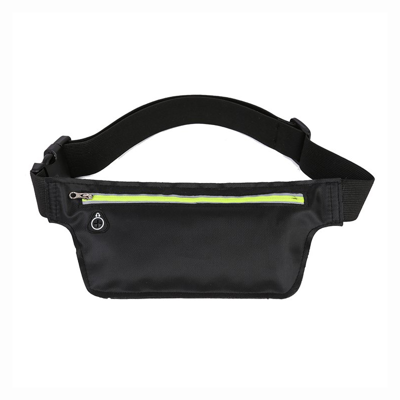 New Nylon Unisex Waist Bag Sling Bags Chest Packs Small Night Reflection Shoulder Bags Waterproof Nylon