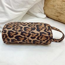 MOLAVE wallet Women Outdoor Fashion Trend Zipper Long Solid comfortable Leopard Pencil bag storage bag leather wallet 2020JAN8(China)