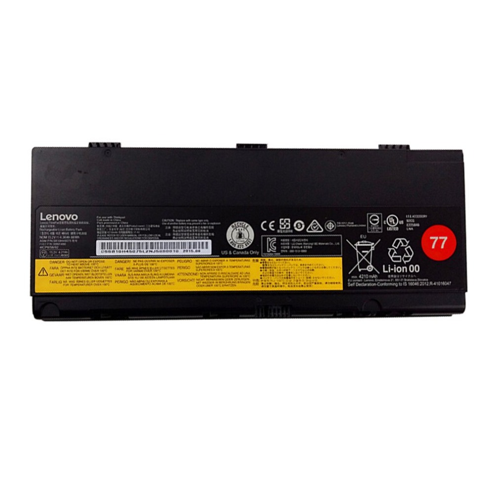 Lenovo Thinkpad P50 P51 серия аккумулятор для ноутбука 4X50K14090 4/6 Аккумулятор для ноутбука оригинальные аксессуары