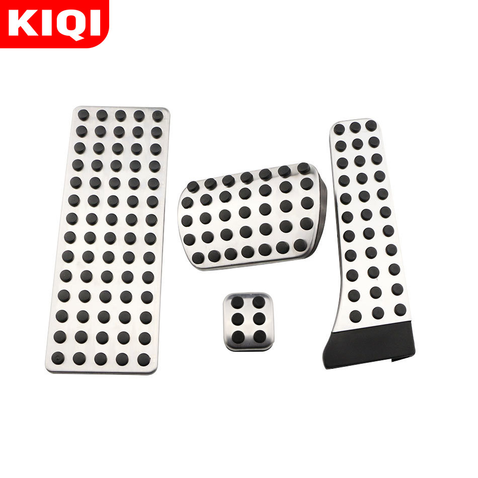 Stainless Steel Car Pedals for Mercedes Benz C E S GLK SLK CLS SL-Class W203 W204 W211 W212W210 Accelerator Brake Footrest Pad