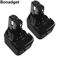 Bonadget Alta Qualidade 3500mAh Da Bateria Ferramenta Para Hitachi 12V 3.0Ah EB1214S 12V EB1220BL EB1212S WR12DMR CD4D DH15DV C5D DS 12DVF3