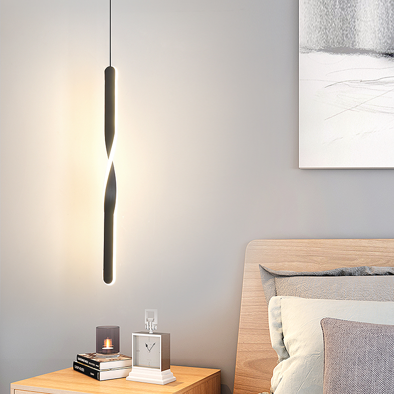 Restauracja lampa wisząca do zawieszenia w kuchni lampa jadalnia oświetlenie LED do pokoju światło oświetlenie w stylu nordyckim nowoczesne wiszące światło do nocnego salonu