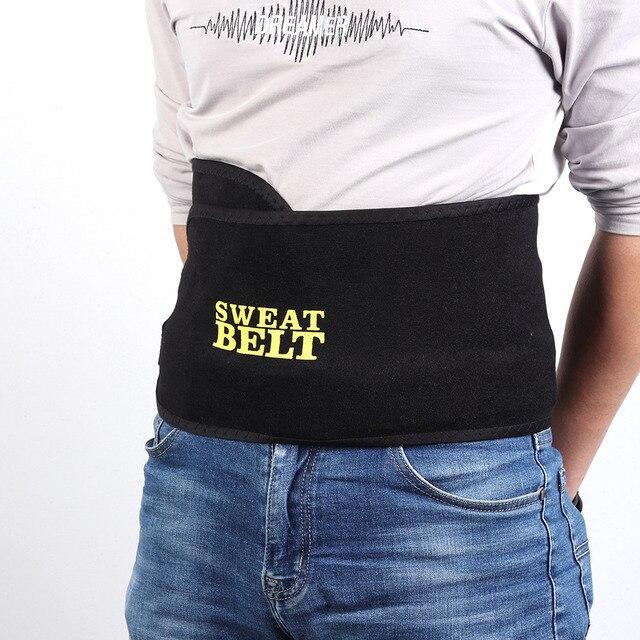 2/3mm Adjustable Black Sweat Belts Trainer Corset Slimming Shaper Tummy Control Girdles Workout Fitness Support Kidney Belt 3