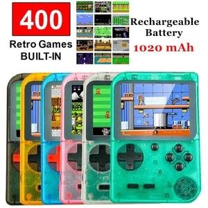 "Image 1 - רטרו כף יד קונסולת משחקים נייד 8 Bit 400 ב 1 קלאסי משחקי FC NES קונסולת 3 ""צג גדול מסך חג המולד מתנות"