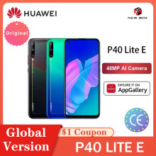 Global Versie Huawei P40 Lite E 4Gb 64Gb Smartphone 48MP Ai Camera 6.39 ''Fhd Scherm Kirin 710 octa Core هاتف هواوي الخلوي