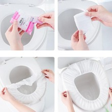Toilet-Seat Disposable Winter Travel Non-Woven Thickened