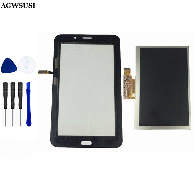 For Samsung T116 SM T116 LCD Display Touch Screen Digitizer Replacement for Samsung Galaxy Tab 3 Lite 7.0|touch screen|screen panel|touch sensor glass - title=