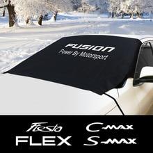 Nieve bloque de escudo sombrilla cubierta para Ford C MAX expedición Fiesta Figo FLEX FUSION Galaxy GT KA PUMA RANGER RAPTOR de tránsito