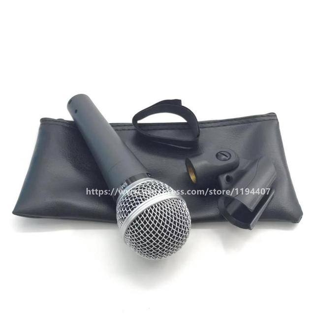 High Quality Version Professional SM58 Wired Microphone Vocal Karaoke Handheld Dynamic SM58LC Microfone Microfono Mike Mic